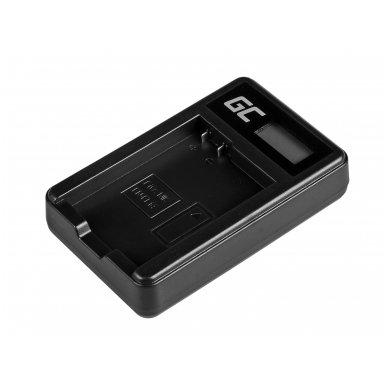 Baterijos (akumuliatoriaus) kroviklis GC MH-24 skirtas Nikon EN-EL14, D3200, D3300, D5100, D5200, D5300, D5500, Coolpix P7000, P7700, P7800 5W 8.4V 0.6A