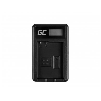 Baterijos (akumuliatoriaus) kroviklis GC MH-24 skirtas Nikon EN-EL14, D3200, D3300, D5100, D5200, D5300, D5500, Coolpix P7000, P7700, P7800 5W 8.4V 0.6A 3