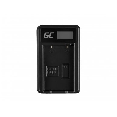 Baterijos (akumuliatoriaus) kroviklis GC MH-61 skirtas Nikon EN-EL5, Coolpix P100, P500, P530, P520, P510, P5100, P5000, P6000, P90, P80 2.5W 4.2V 0.6A 3