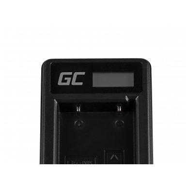 Baterijos (akumuliatoriaus) kroviklis GC MH-61 skirtas Nikon EN-EL5, Coolpix P100, P500, P530, P520, P510, P5100, P5000, P6000, P90, P80 2.5W 4.2V 0.6A 4