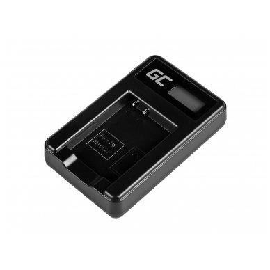Baterijos (akumuliatoriaus) kroviklis GC MH-65 skirtas Nikon EN-EL12, AW100S, S640, AW100, P300, P330, P310, S70 S6000 2.5W 4.2V 0.6A