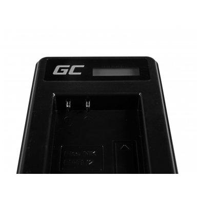 Baterijos (akumuliatoriaus) kroviklis GC MH-65 skirtas Nikon EN-EL12, AW100S, S640, AW100, P300, P330, P310, S70 S6000 2.5W 4.2V 0.6A 4
