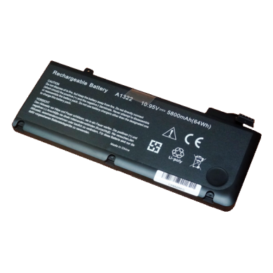 """Baterija (akumuliatorius) APPLE Macbook 13"""" A1278 (5800mAh) 2"""