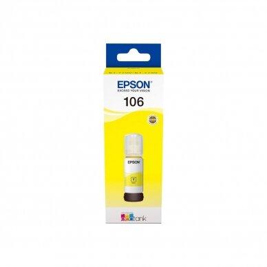 Epson 106 rašalas (buteliukas, 70ml, originalas) 2