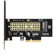 Adapteris M.2 NVMe SSD NGFF į PCIE X4 M Key PCI-e PCI Express 3.0 x4 2230-2280