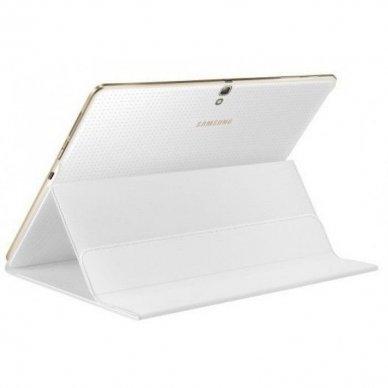 Dėklas planšetiniam kompiuteriui Samsung Galaxy Tab S 10.5 atverčiamas, baltas (EF-BT800BWEGWW, originalus)