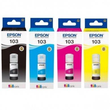 Epson 103 rašalas (buteliukas, 70ml, originalus)