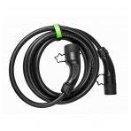 GC kabelis (tipas 2) elektromobiliui įkrauti (5m, 22kW,  32A, 3-fazės)