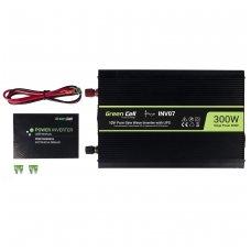 GC įtampos keitiklis su integruotu UPS skirtas centrinio šildymo siurbliams, 300W