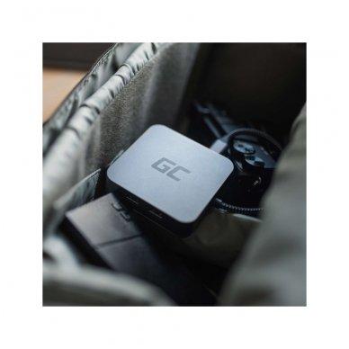 GC Jungčių šakoduvas (adapteris) 6in1 (USB 3.0 HDMI Ethernet USB-C) skirtas Apple MacBook, Dell XPS, Asus ZenBook ir kitiems 2
