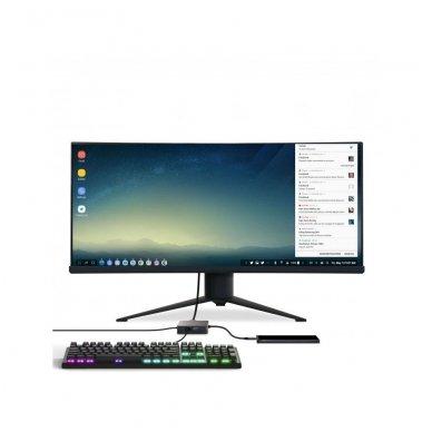 GC Jungčių šakoduvas (adapteris) 6in1 (USB 3.0 HDMI Ethernet USB-C) skirtas Apple MacBook, Dell XPS, Asus ZenBook ir kitiems 4
