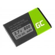 Baterija (akumuliatorius) GC telefonui Alcatel 3025X 2053X 2038X 2053D 3,7V 800 mAh