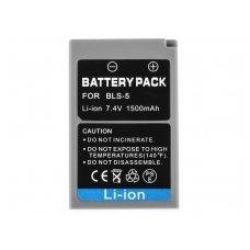 Skaitmeninės kameros baterija (akumuliatorius) GC skirta Olympus PEN E-400 E-600 E-P1 7.6V 1500mAh