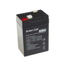 Baterija (akumuliatorius) GC UPS Gel (universali) 6V 4.5Ah