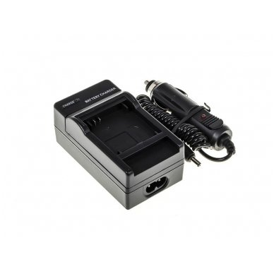 Maitinimo adapteris (kroviklis) GC skaitmeninei kamerai GoPro HD Hero 3 (du viename - buitinis ir automobilinis) 2