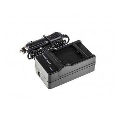 Maitinimo adapteris (kroviklis) GC skaitmeninei kamerai GoPro HD Hero 3 (du viename - buitinis ir automobilinis) 3
