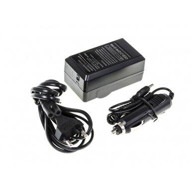 Maitinimo adapteris (kroviklis) GC skaitmeninei kamerai GoPro HD Hero 3 (du viename - buitinis ir automobilinis) 4