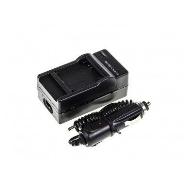Maitinimo adapteris (kroviklis) GC skaitmeninei kamerai GoPro HD Hero 3 (du viename - buitinis ir automobilinis)