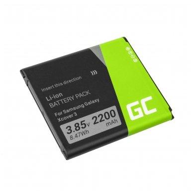 Baterija (akumuliatorius) GC EB-BG388BBE telefonui Samsung Galaxy xCover 3 G388F G389F 2200mAh 3.8V 2