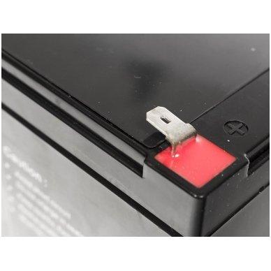 Baterija (akumuliatorius) GC UPS Gel (universali) 12V 12Ah 2