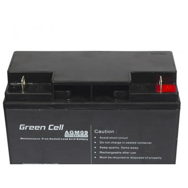 Baterija (akumuliatorius) GC UPS Gel (universali) 12V 18Ah 2
