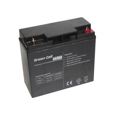 Baterija (akumuliatorius) GC UPS Gel (universali) 12V 18Ah