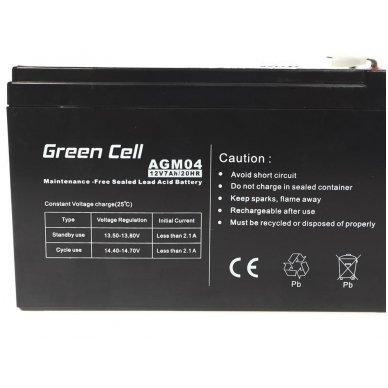 Baterija (akumuliatorius) GC UPS Gel (universali) 12V 7Ah 3
