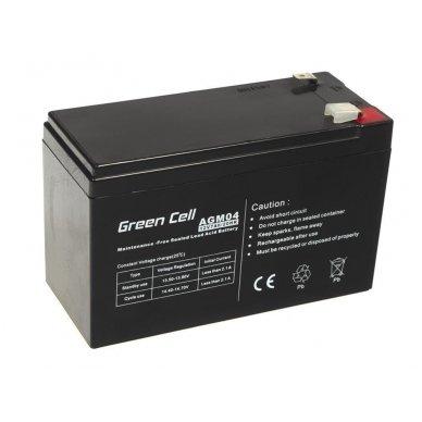 Baterija (akumuliatorius) GC UPS Gel (universali) 12V 7Ah