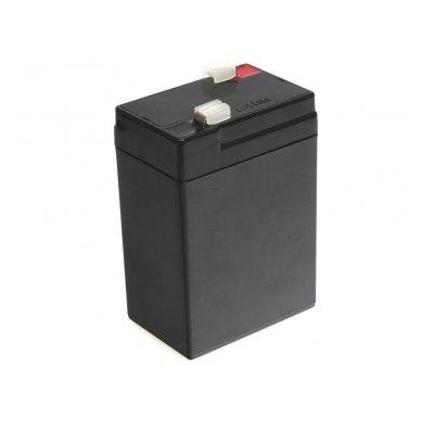 Baterija (akumuliatorius) GC UPS Gel (universali) 6V 4.5Ah 4