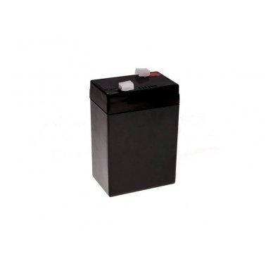 Baterija (akumuliatorius) GC UPS Gel (universali) 6V 5Ah 3