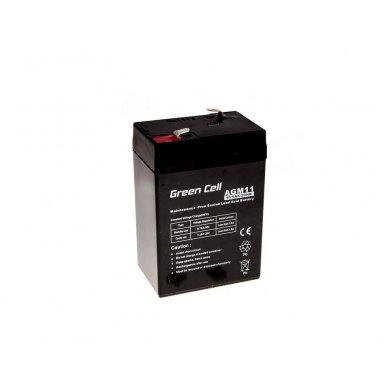 Baterija (akumuliatorius) GC UPS Gel (universali) 6V 5Ah 5