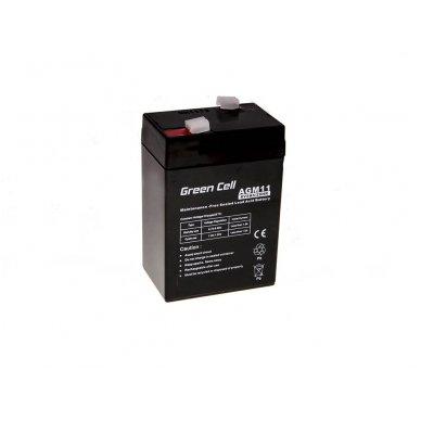 Baterija (akumuliatorius) GC UPS Gel (universali) 6V 5Ah