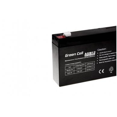 Baterija (akumuliatorius) GC UPS Gel (universali) 6V 7Ah 2