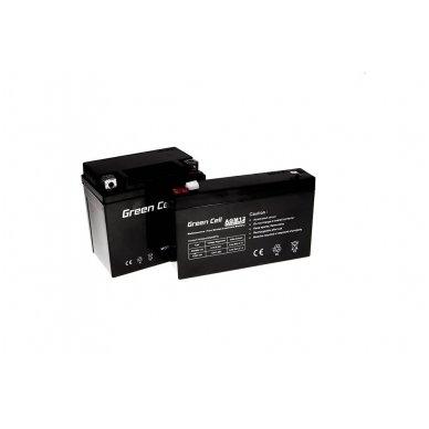 Baterija (akumuliatorius) GC UPS Gel (universali) 6V 7Ah 4