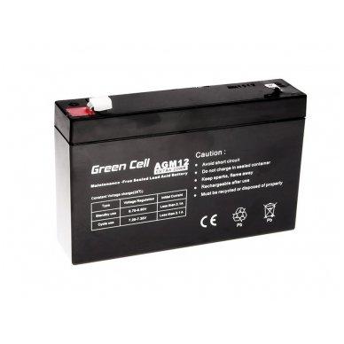 Baterija (akumuliatorius) GC UPS Gel (universali) 6V 7Ah