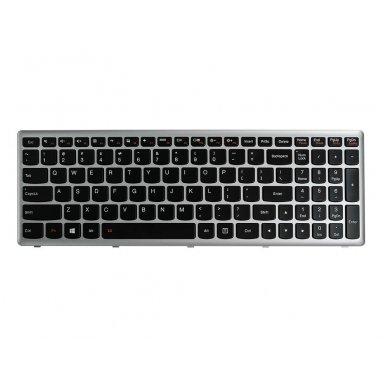 Klaviatūra Lenovo G500C G500H G500S G505S S500 S510P Z510 Flex 15 15D (šviečianti) US