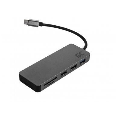 Jungčių šakotuvas HUB USB-C GC 4K DEX 4