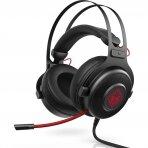 Ausinės su mikrofonu HP OMEN Headset 800 žaidimams 3.5mm 430g (1KF76AA#ABB)