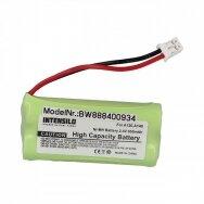 Baterija (akumuliatorius) fiksuoto ryšio telefonui Siemens Gigaset A120, A140 2.4V 850mAh