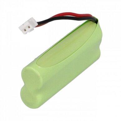 Baterija (akumuliatorius) fiksuoto ryšio telefonui Siemens Gigaset A120, A140 2.4V 850mAh 2