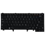 Klaviatūra DELL Latitude E5420 E6220 E6320 E6420 (mažas ENTER) US