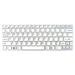 Klaviatūra SONY Vaio SVE11 (balta, mažas ENTER) US