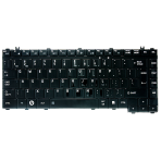 Klaviatūra TOSHIBA A200 A300 M200 M300 L200 L300 (blizgi, didelis ENTER) UK