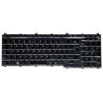 Klaviatūra TOSHIBA Satellite A500 A505 L350 L500 P200 P300 (blizgi, didelis ENTER) UK