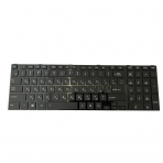 Klaviatūra TOSHIBA Satellite C850 C855 C870 L850 L855 L870 (mažas Enter, su rėmeliu)
