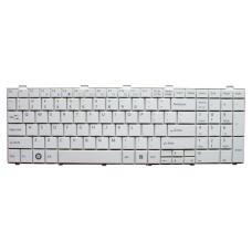 Klaviatūra FUJITSU SIEMENS Lifebook A530 A531 AH530 AH531 (balta, mažas ENTER) US