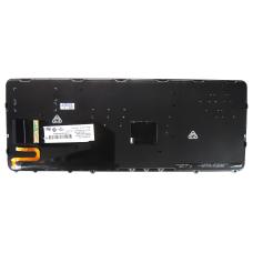 Klaviatūra HP COMPAQ Elitebook 840 850 G1 G2 (šviečianti, juodas rėmelis)