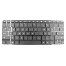 Klaviatūra HP COMPAQ Mini 210-1000 (klavišai su tarpais, su rėmeliu) US