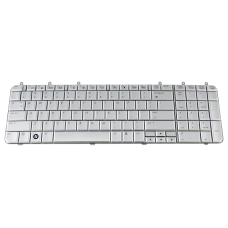 Klaviatūra HP COMPAQ Pavilion DV7-1000 (sidabrinė, mažas ENTER) US
