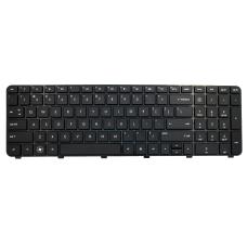 Klaviatūra HP COMPAQ Pavilion DV7-5000 DV7-6000 DV7-6B (mažas ENTER, klavišai su tarpais, su rėmeliu) US